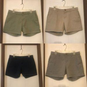 """SALE Bundle of 4 Old Navy Twill 5"""" Shorts"""